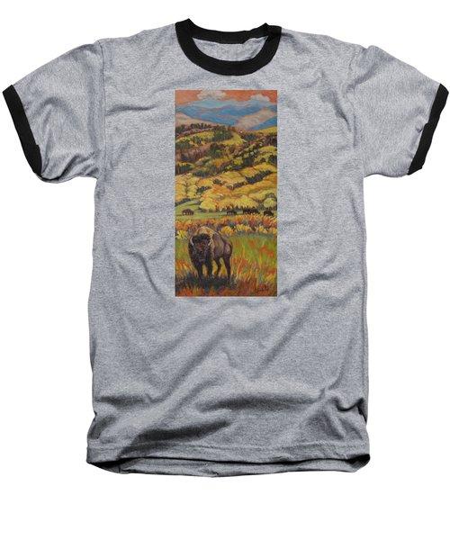 Wild West Splendor Baseball T-Shirt