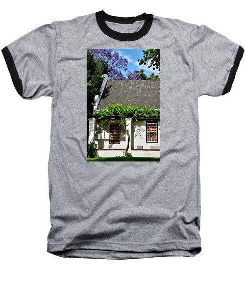 Baseball T-Shirt featuring the photograph wild Wine by Werner Lehmann