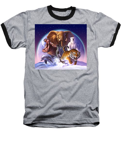 Wild World Baseball T-Shirt by Jerry LoFaro