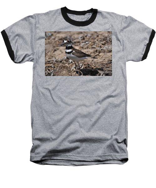 Wildbird Killdeer Mother Baseball T-Shirt