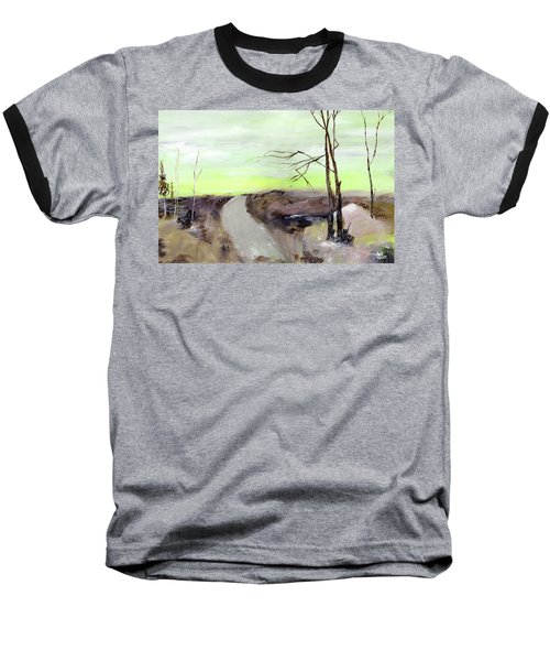 Baseball T-Shirt featuring the painting Wilderness 2 by Anil Nene