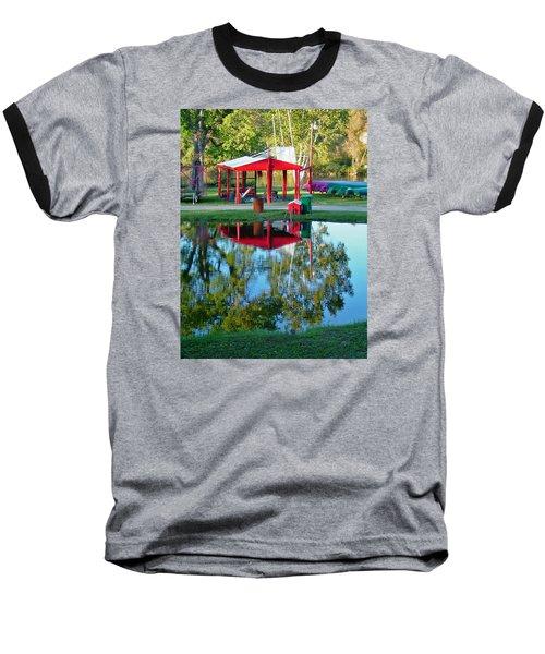 Wilderness Canoe Baseball T-Shirt