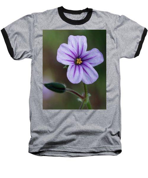Wilderness Flower 3 Baseball T-Shirt