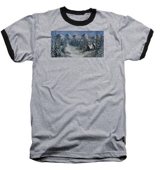 Wilderness Baseball T-Shirt by Katia Aho