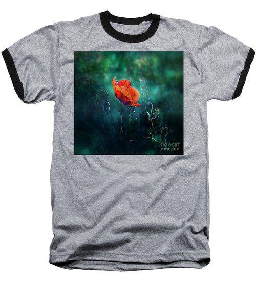 Wildest Dreams Baseball T-Shirt by Agnieszka Mlicka
