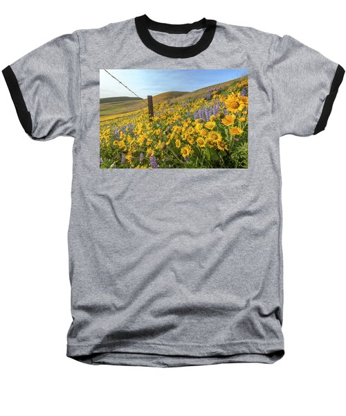 Wildflower Bonanza Baseball T-Shirt