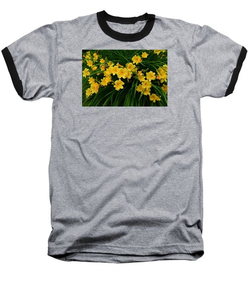 Wildflower Bouquet Baseball T-Shirt