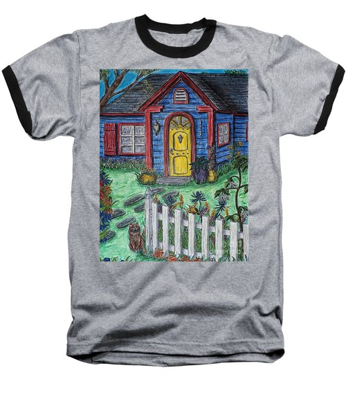 Wildflower Cottage Baseball T-Shirt