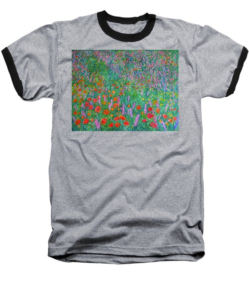 Wildflower Current Baseball T-Shirt