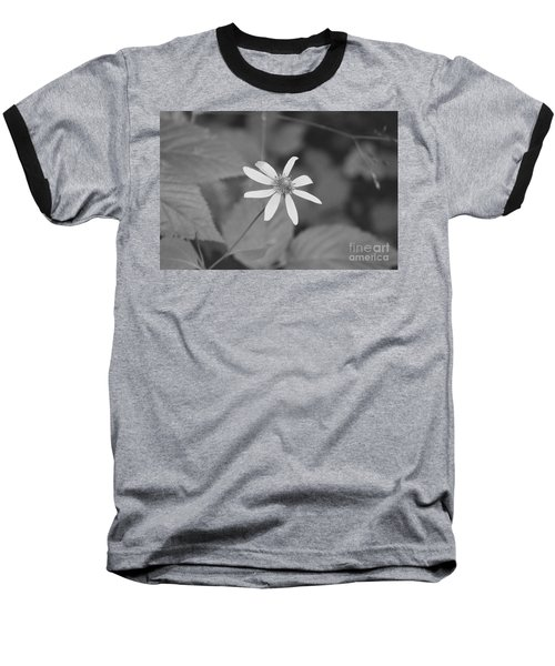 Baseball T-Shirt featuring the photograph Wildflower by Eric Liller