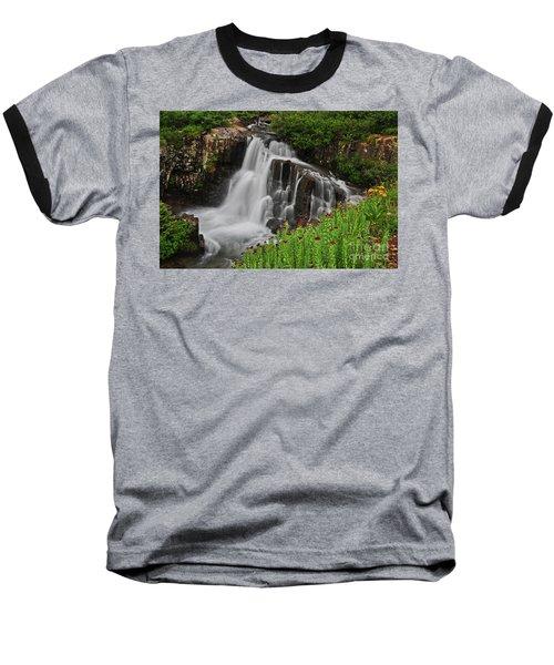 Wildflower Falls Baseball T-Shirt