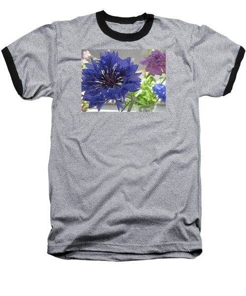 Wildflower Fluff Baseball T-Shirt