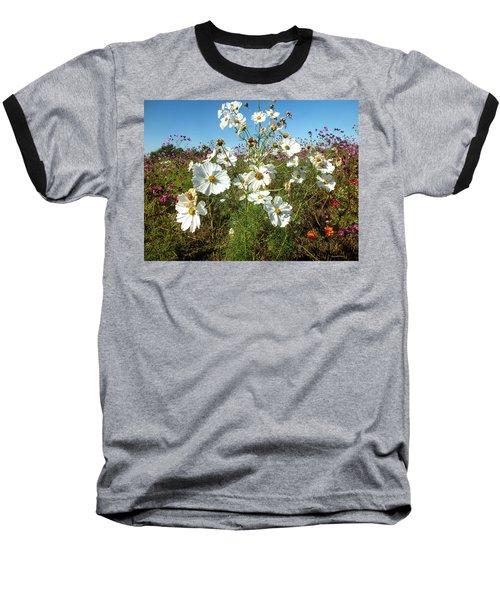 Wildflower Mania Baseball T-Shirt