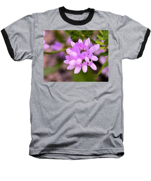 Wildflower Or Weed Baseball T-Shirt by Kathy Eickenberg