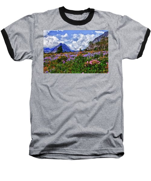 Wildflower Profusion Baseball T-Shirt