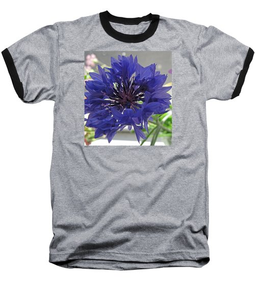 Wildflower Purple Baseball T-Shirt
