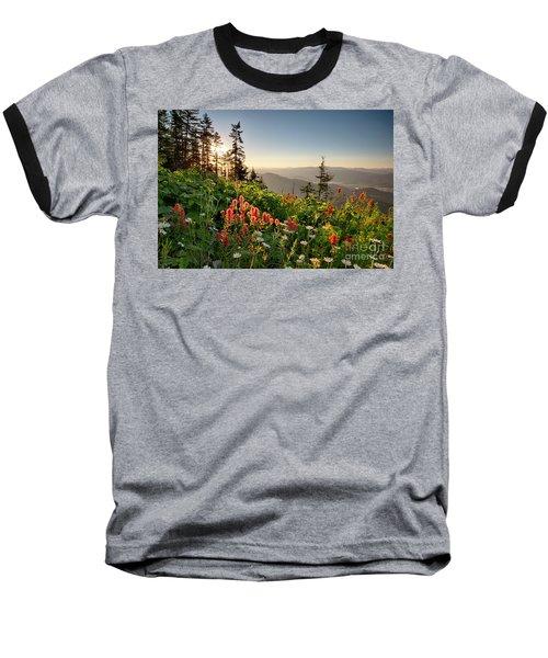 Wildflower View Baseball T-Shirt