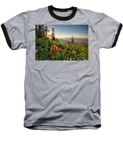 Wildflower View Baseball T-Shirt