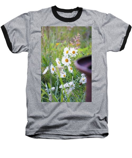 Baseball T-Shirt featuring the photograph Wildflowers by Angi Parks