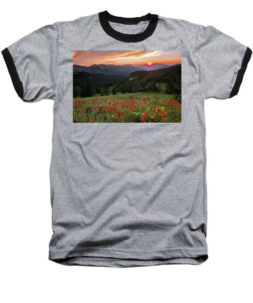Wildflowers At Gaurdsmans Pass Baseball T-Shirt