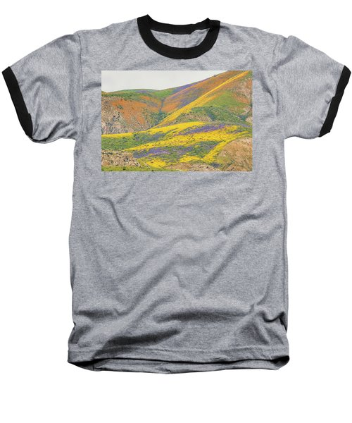 Baseball T-Shirt featuring the photograph Wildflowers At The Summit by Marc Crumpler