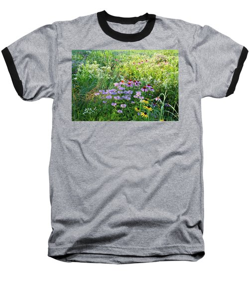 Wildflowers In Moraine Hills State Park Baseball T-Shirt
