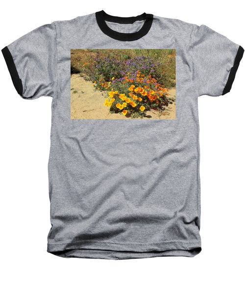 Wildflowers In Spring Baseball T-Shirt by Viktor Savchenko