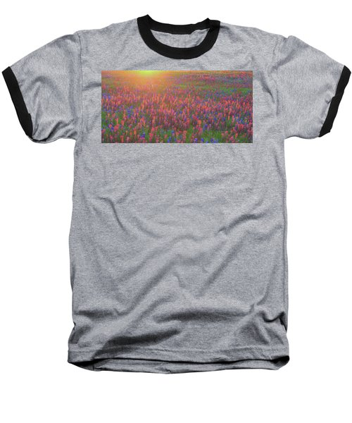 Wildflowers In Texas Baseball T-Shirt