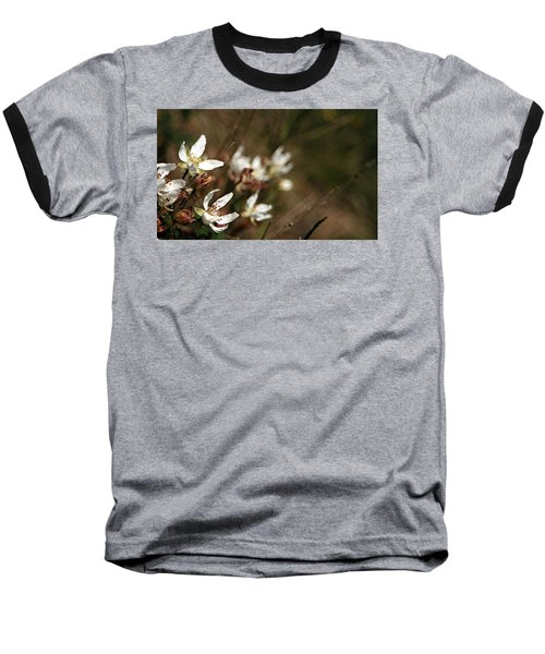 Wildflowers Baseball T-Shirt by Marna Edwards Flavell
