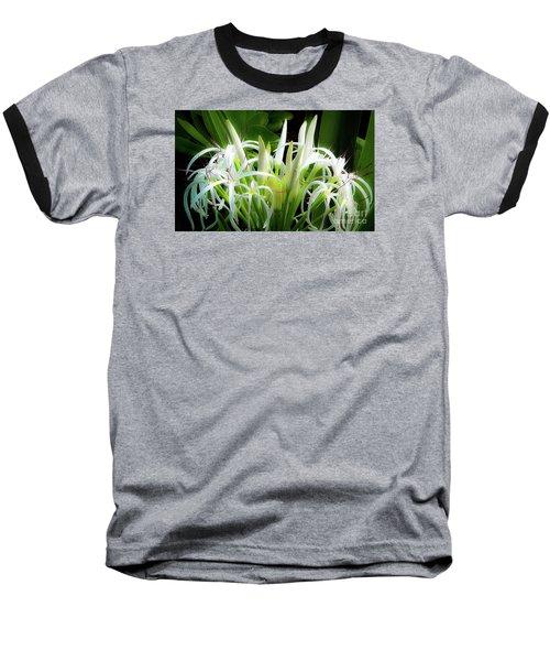 Wildflowers Of Hawaii Baseball T-Shirt