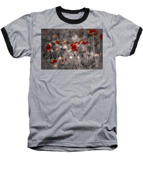 Wildflowers Of The Dunes Baseball T-Shirt