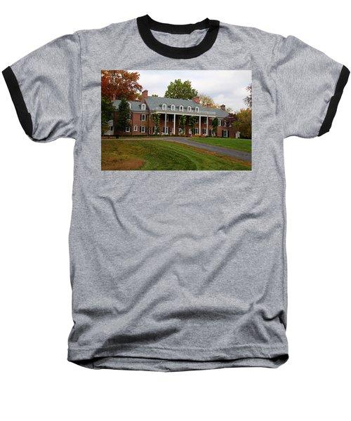 Wildwood Manor House In The Fall Baseball T-Shirt
