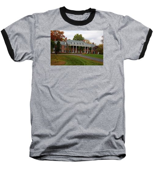 Wildwood Manor House In The Fall Baseball T-Shirt