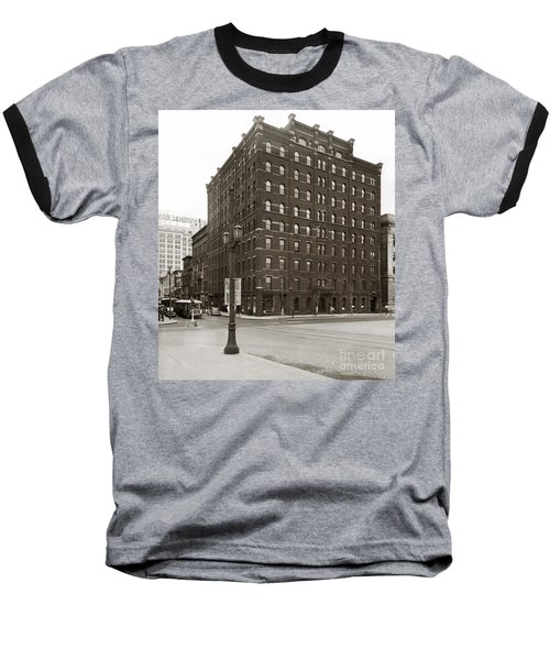 Wilkes Barre Pa Hollenback Coal Exchange Building Corner Of Market And River Sts April 1937 Baseball T-Shirt