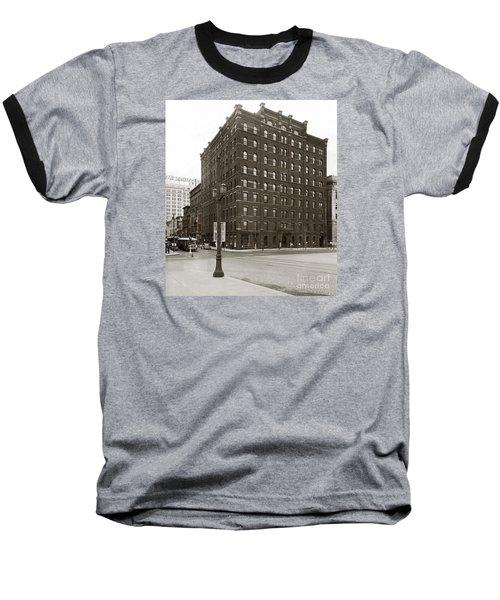 Wilkes Barre Pa Hollenback Coal Exchange Building Corner Of Market And River Sts April 1937 Baseball T-Shirt