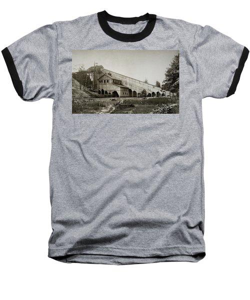 Wilkes Barre Twp Pa Empire Number 5 Coal Breaker 1880 Lehigh And Wb Coal Co. Baseball T-Shirt