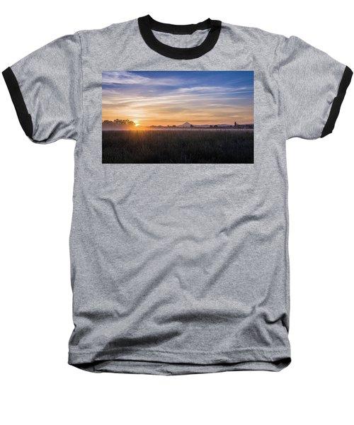 Willamette Valley Sunrise Baseball T-Shirt