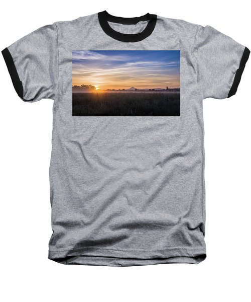 Willamette Valley Sunrise Baseball T-Shirt