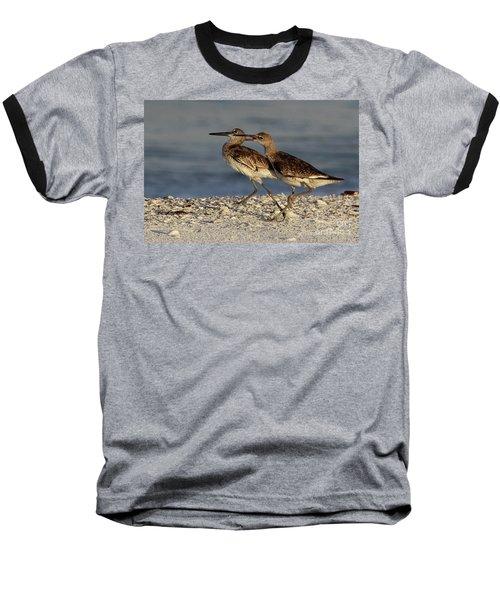 Willet Fight Baseball T-Shirt