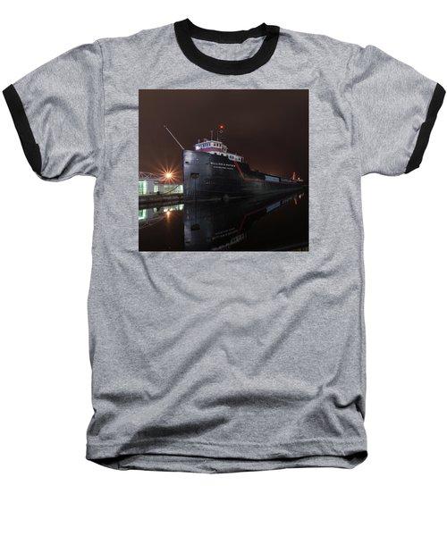 William G Mather At Night  Baseball T-Shirt