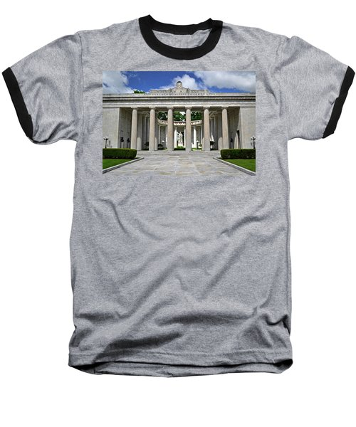 Baseball T-Shirt featuring the photograph William Mckinley Memorial 003 by George Bostian