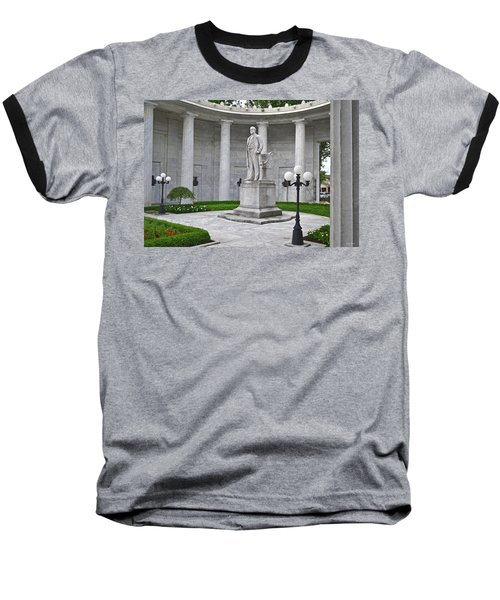 Baseball T-Shirt featuring the photograph William Mckinley Memorial 004 by George Bostian