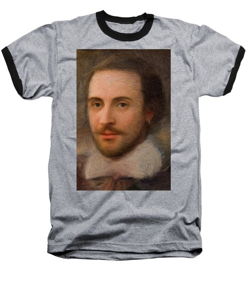 William Shakespeare Baseball T-Shirt
