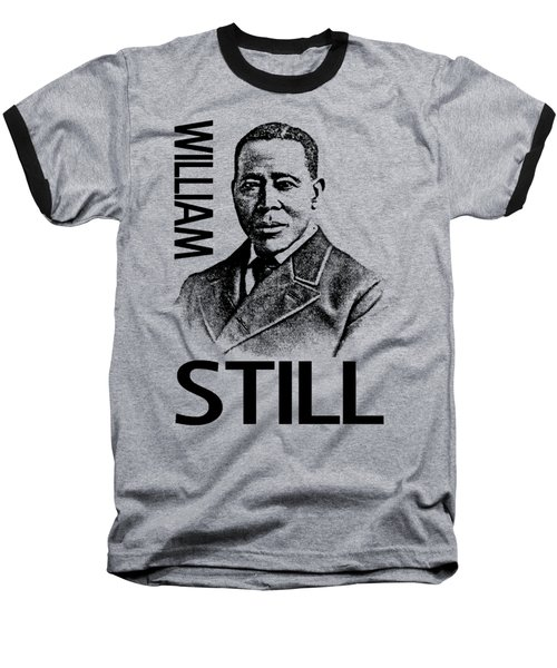 William Still Baseball T-Shirt by Otis Porritt