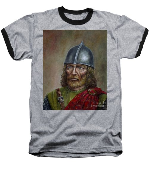 William Wallace Baseball T-Shirt by Arturas Slapsys