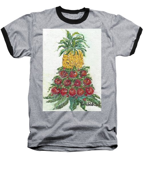 Williamsburg Apple Tree Baseball T-Shirt