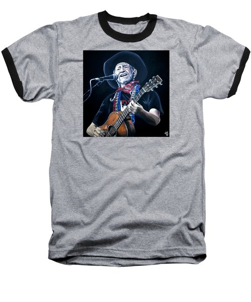 Willie Nelson 2 Baseball T-Shirt