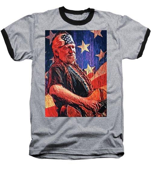 Willie Nelson Baseball T-Shirt