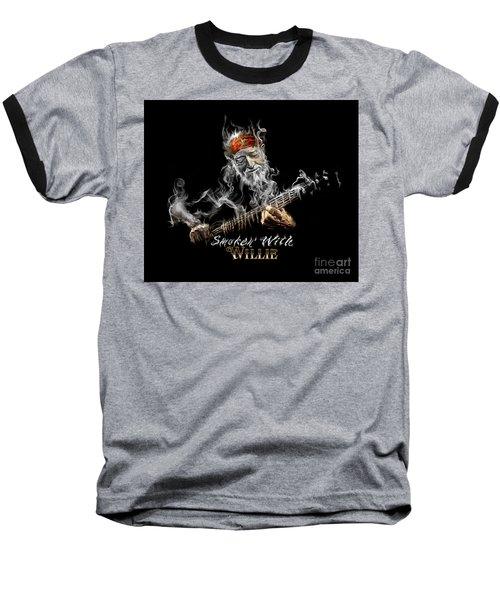 Willie Smoken' Baseball T-Shirt