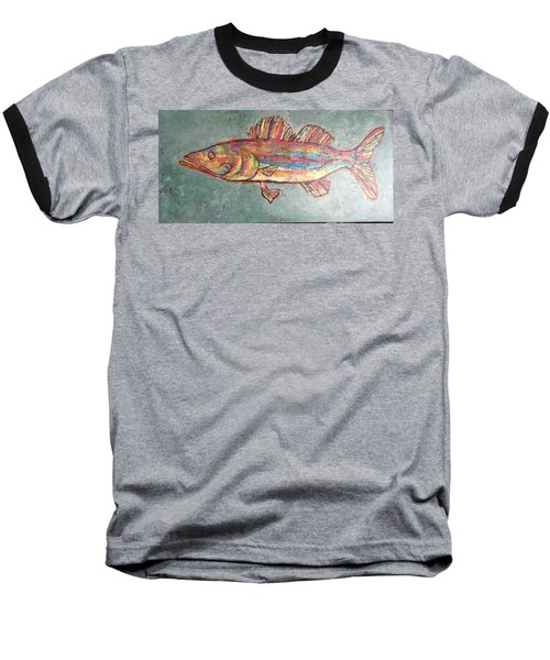 Willie The Walleye Baseball T-Shirt